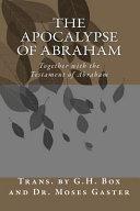 The Apocalypse of Abraham