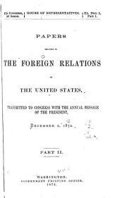 Papers Relating to the Foreign Relations of the United States: Part 2, Volume 4