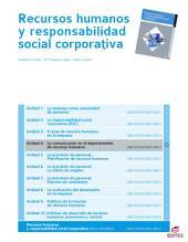 La comunicación en el departamento de recursos humanos (Recursos humanos y responsabilidad social corporativa)