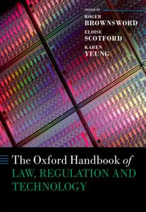 The Oxford Handbook of Law  Regulation and Technology PDF