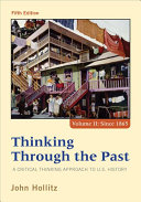 Thinking Through the Past  Volume II
