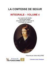 Comtesse de Ségur – Œuvres complètes – Volume 4