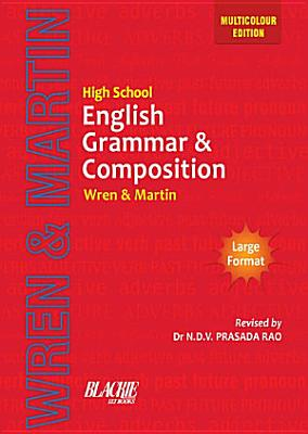 High School English Grammar And Composition Book Multicolour Edition