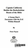 Captain California Battles The Beelzebubian Beasts Of The Bible PDF