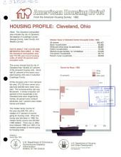 Housing profile: Cleveland, Ohio