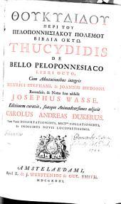 Thoukydidou peri tou Peloponnēsiakou Polemou biblia oktō