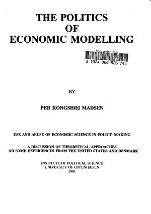 The Politics of Economic Modelling PDF