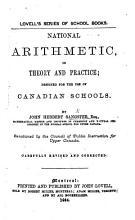 National Arithmetic in Theory and Practice  etc PDF
