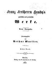 Franz Freiherrn Gaudy's poetische und prosaische Werke: Bände 1-2