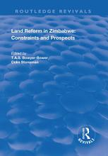 Land Reform in Zimbabwe  Constraints and Prospects PDF