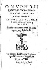 Reipublicae Romanae Commentariorum libri tres