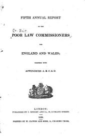 Annual Report of the Poor Law Commissioners for England and Wales: Volume 5