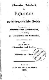 Allgemeine Zeitschrift für Psychiatrie und psychisch-gerichtliche Medizin: Band 13