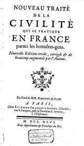 Nouveau traité de la civilité qui se pratique en France parmi les honnêtes-gens