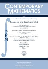 Geometric and Spectral Analysis