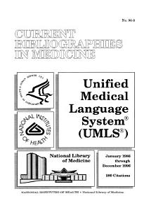 Unified Medical Language System PDF