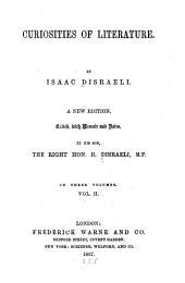 Curiosities of Literature: Volume 2