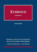 Federal Rules of Evidence Statutory Supplement 2013 PDF