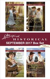 Love Inspired Historical September 2017 Box Set: Mail-Order Marriage Promise\Pony Express Special Delivery\Rancher to the Rescue\The Outlaw's Second Chance