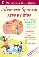 Advanced Spanish Step by Step PDF
