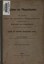 Syllabus der Pflanzenfamilien