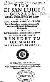 Vita de San Luigi Gonzaga della Compagnia di Gesu