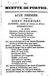La muette de Portici : opéra en cinq actes
