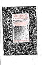 Sermones et varij Tractatus Keiserspergij