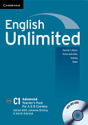 English Unlimited Advanced A and B Teacher's Pack (Teacher's Book with DVD-ROM)