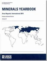 Minerals Yearbook   Area Reports  International Review PDF
