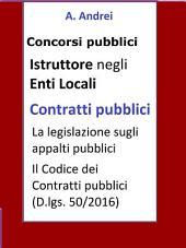 Contratti pubblici - Concorso Istruttore Enti Locali