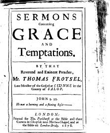 Sermons Concerning Grace And Temptations
