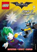 LEGO the Batman Movie  Chaos in Gotham City  Activity Book W