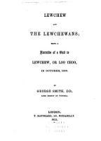 Lewchew and the Lewchewans PDF