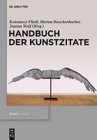 Handbuch der Kunstzitate PDF