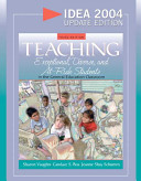 Teaching Exceptional  Diverse  and At risk Students in the General Education Classroom PDF