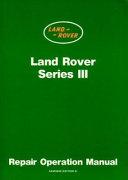 Land Rover Series 3 Workshop Manual
