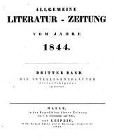 Allgemeine Literatur Zeitung 1844 PDF