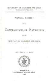 ANNUAL REPORT OF THE COMMISSIONER.