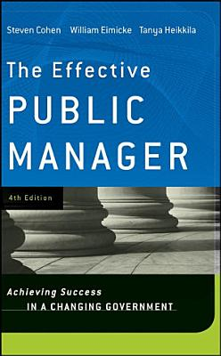 The Effective Public Manager
