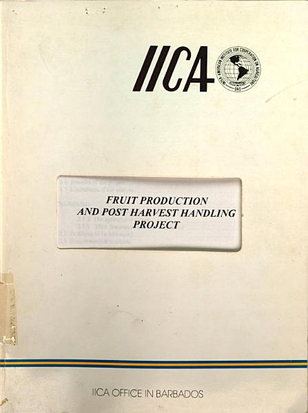 Download Fruit Production and Post Harvest Handling Project Book
