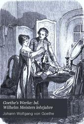 Goethe's werke: Band 6