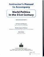 World Politics in the 21st Century PDF