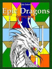 Epic Dragons: Coloring Book