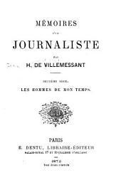 Mémoires d'un journaliste: Volume2