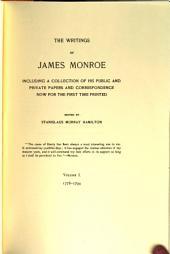 The Writings of James Monroe: 1778-1794