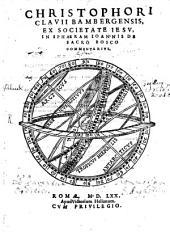 In Sphaeram Joannis de Sacrobosco Commentarius