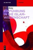 Einf  hrung in die Islamwissenschaft PDF