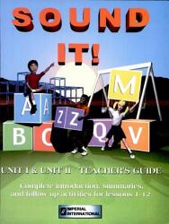 Sound It Vowels And Consonants Book PDF