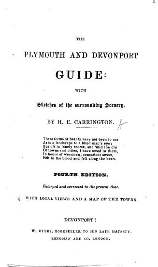The Plymouth and Devonport Guide     Second edition PDF